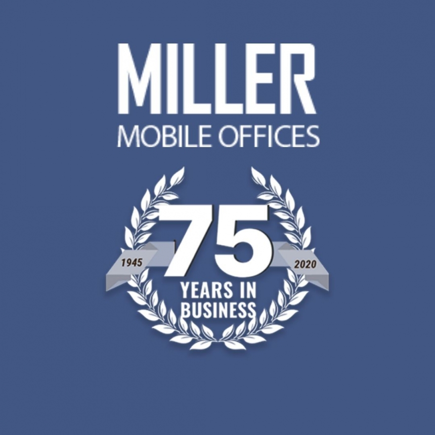 Celebrating 75 Years – A History of Miller Mobile Offices