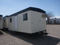 23x10 office trailer 1 room exterior