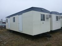 33x10 office trailer exterior