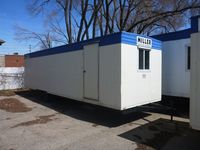 34x8 office trailer exterior