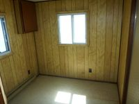 34x8 office trailer interior