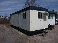 35x10 office trailer exterior