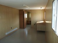 35x10 office trailer interior