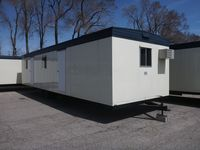 43x10 office trailer exterior